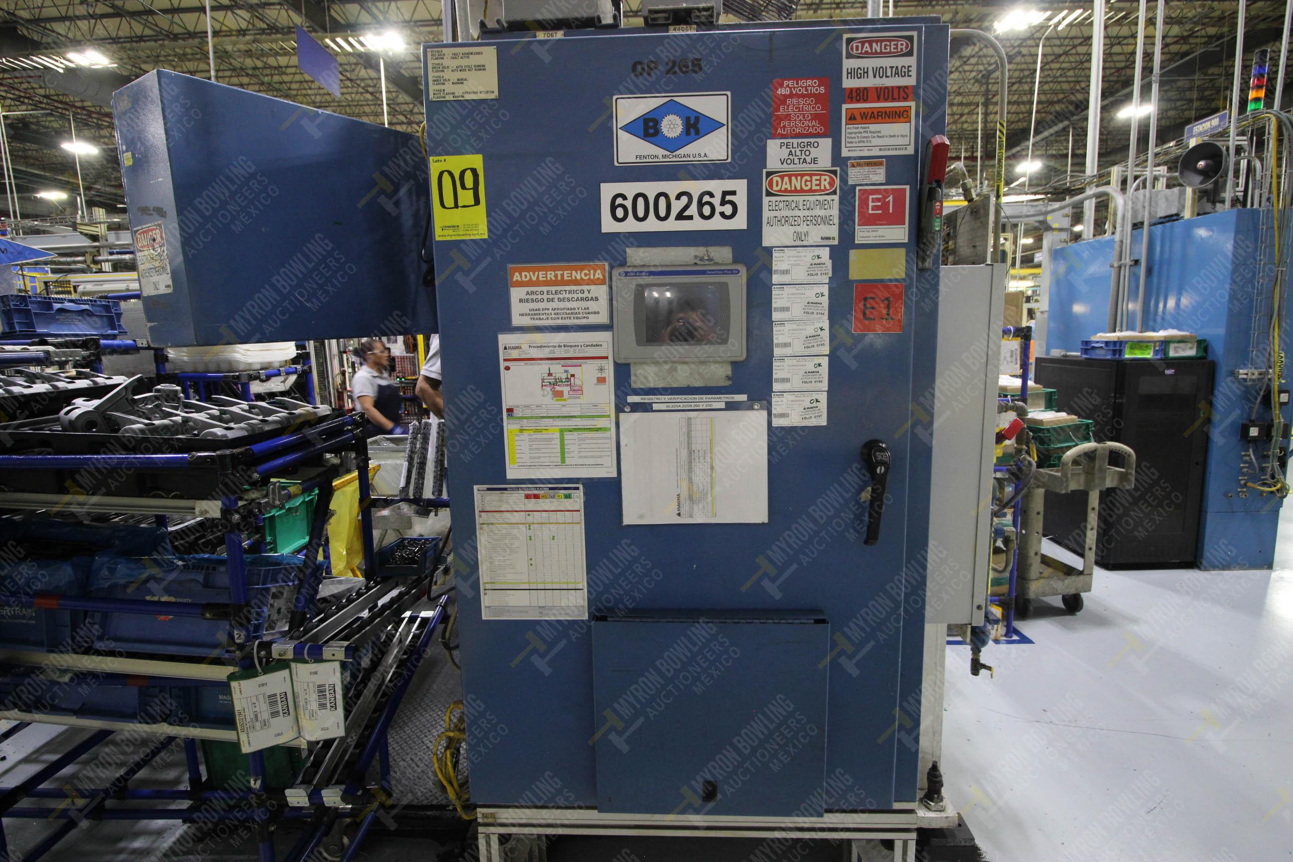 Estación semiautomática para operación 265A y 265B de ensamble de resorte, candado y ponchado - Image 20 of 30