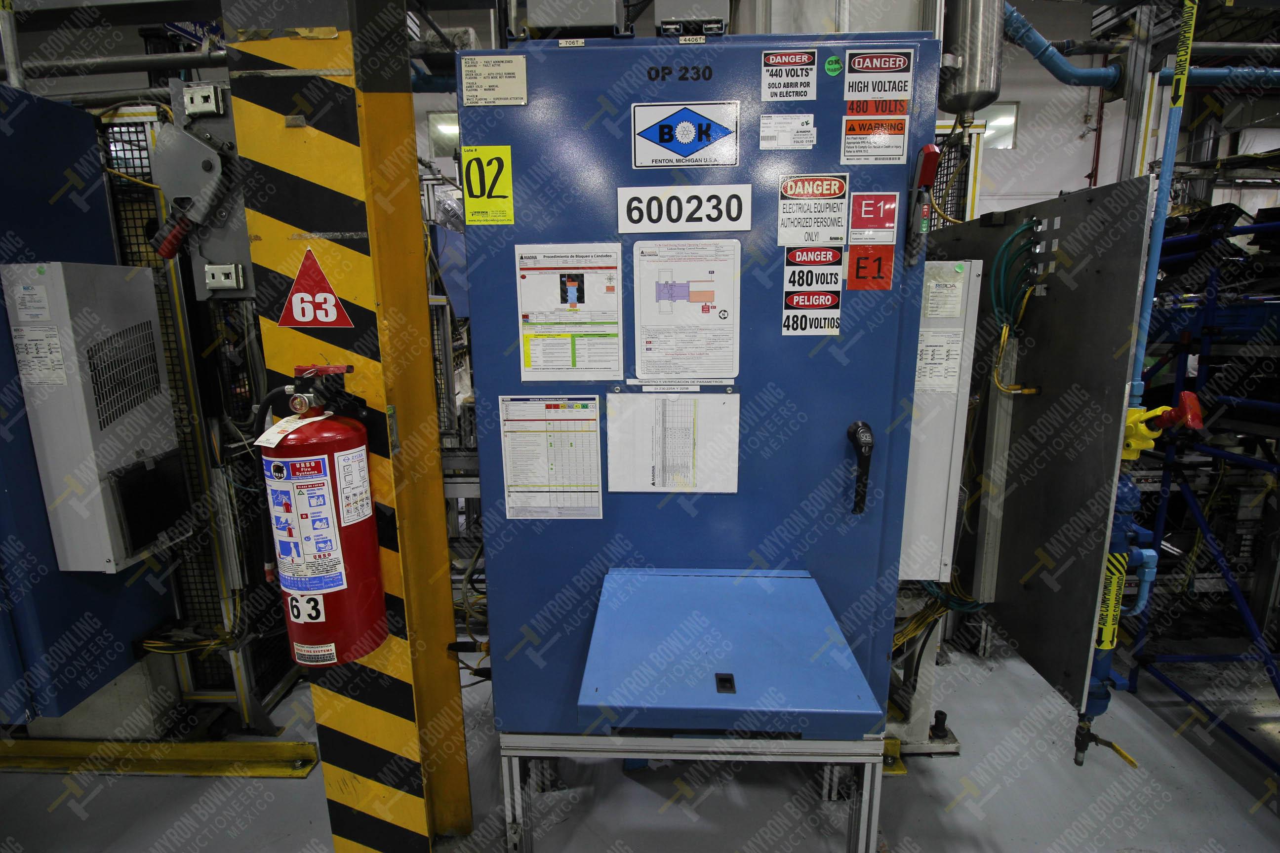 Estación automática para operación 230, para medición de gap - Image 26 of 36