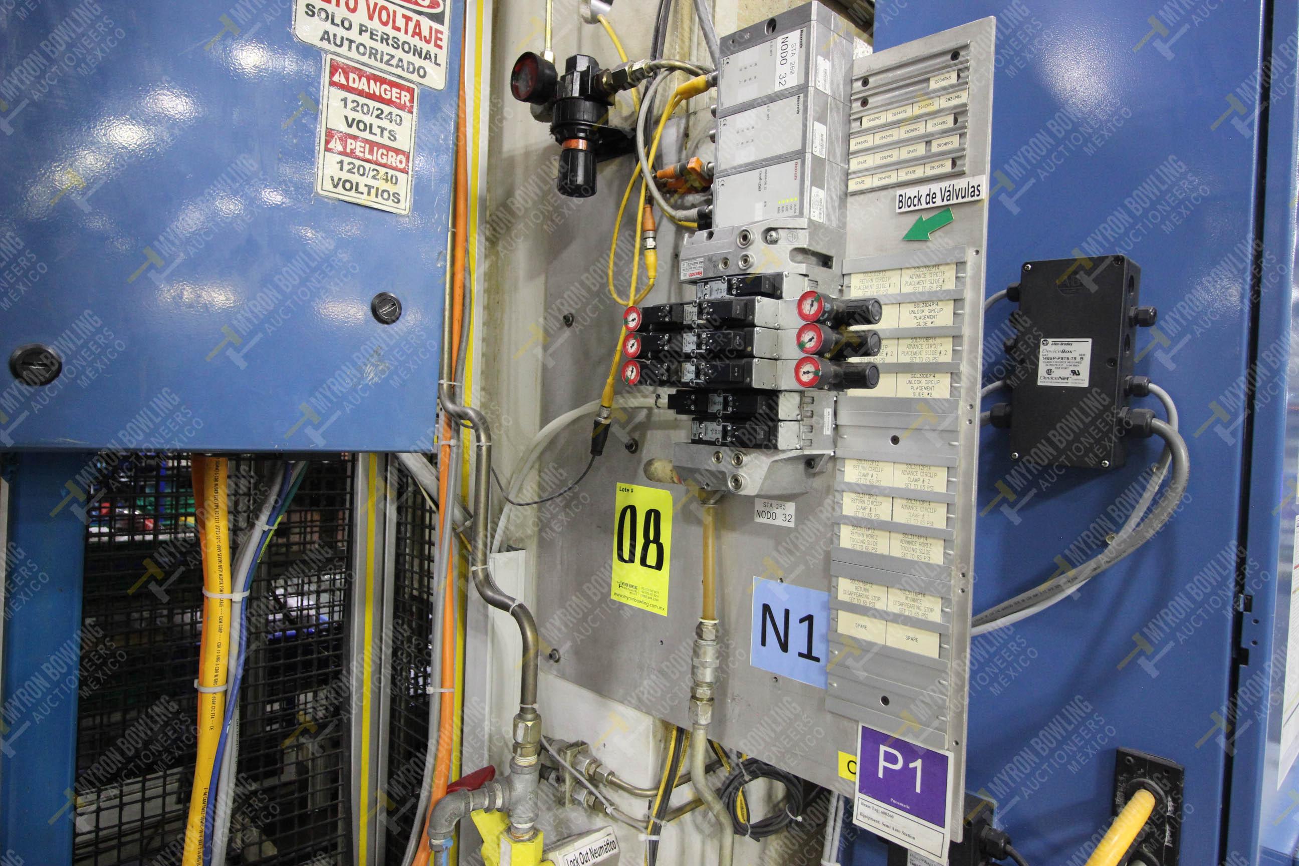 Estación semiautomática para operación 260 de ensamble - Image 13 of 20