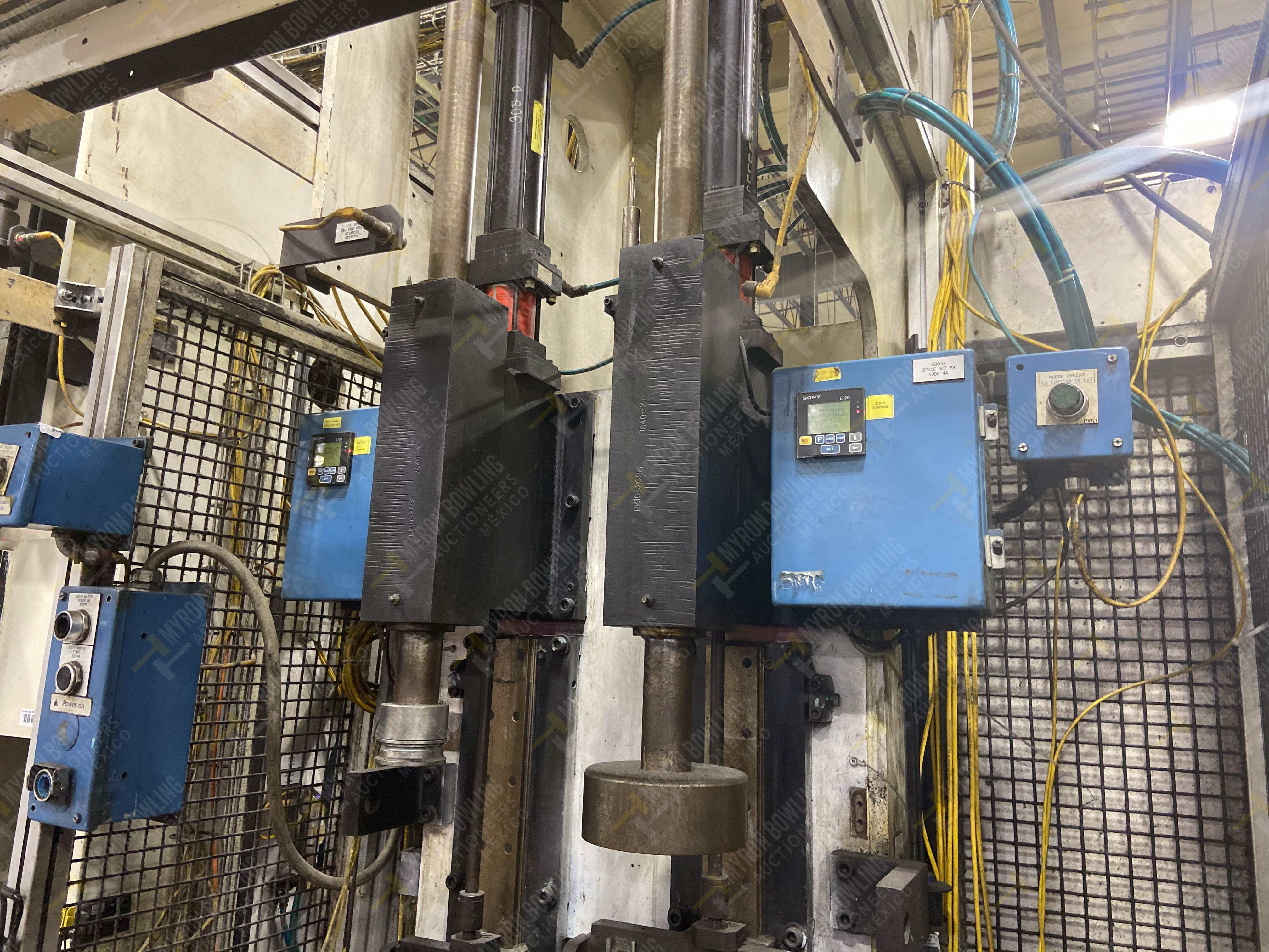 Estación semiautomática para operación 305D, contiene: Prensa tipo cuello de ganso con dos cilindros - Image 4 of 20
