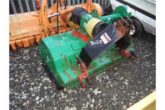 MAJOR flail mower (to suit compact tractor)