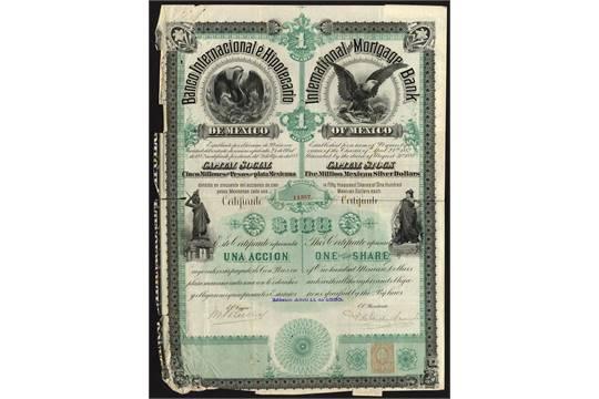 Banco internacional hipotecario de m xico 1 share of for Banco internacional