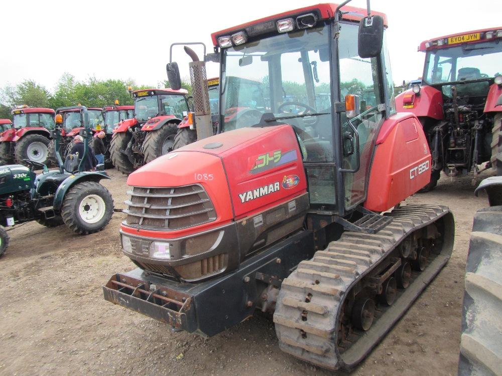 Yanmar Tractor Pto : Yanmar lt tractor c w rubber tracks full linkage pto