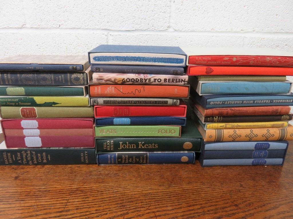 Folio Society: Lot of 3 Roman History, Lit - Suetonius, Procopius, Robert Graves