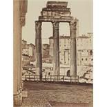 James AndersonDioskurentempel, Forum Romanum