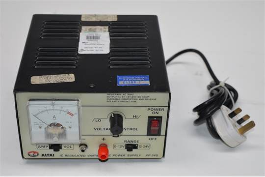 1 x Altai IC Regulated Variable DC Power Supply - Model PP