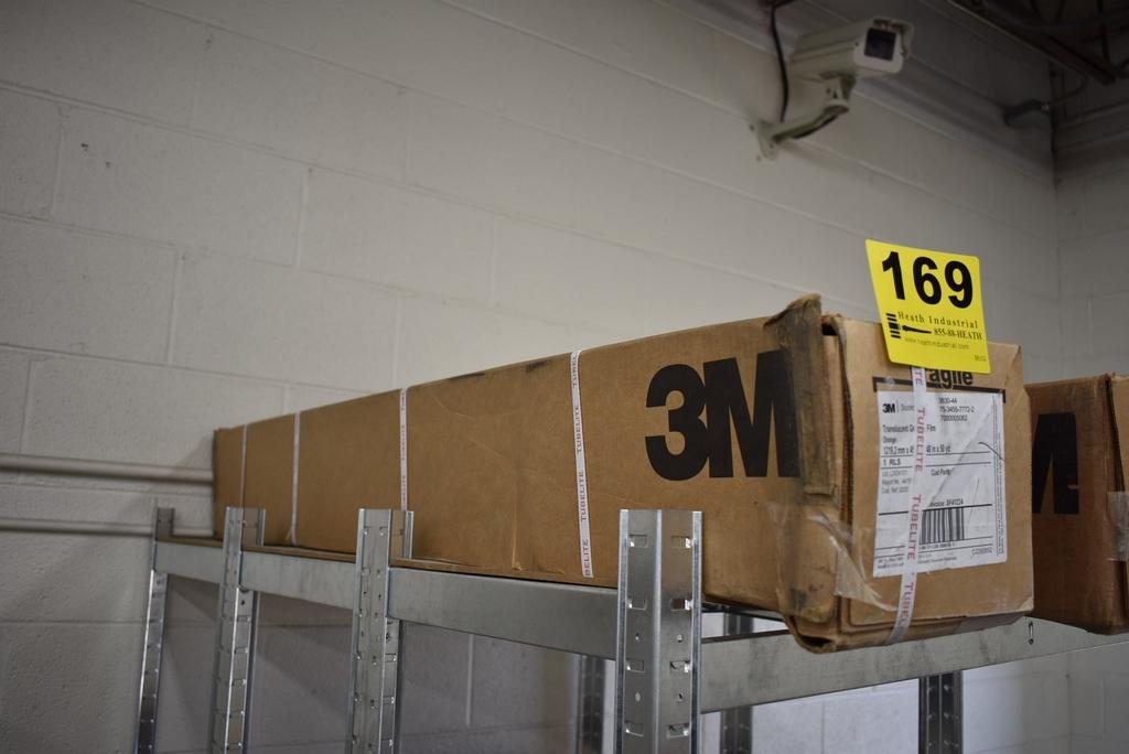 (1) ROLL 3M TRANSLUCENT GRAPHIC FILM - ORANGE 3630-44 - Image 2 of 2