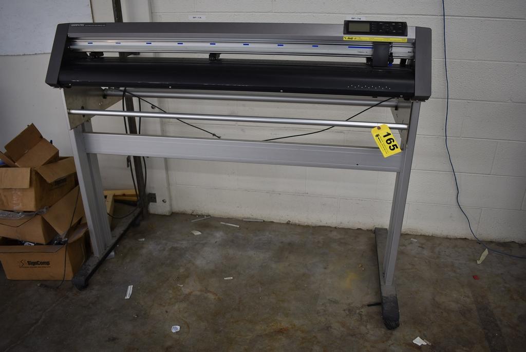 "GRAPHTEC MODEL CE6000-120 VINYL CUTTER 48"" CAPACITY"