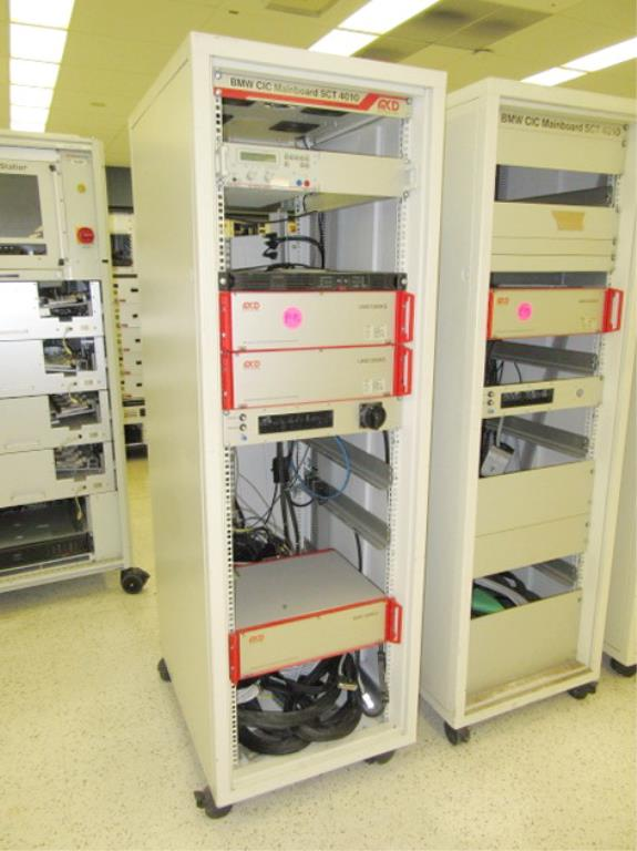 Lot 137 - Test Cabinets