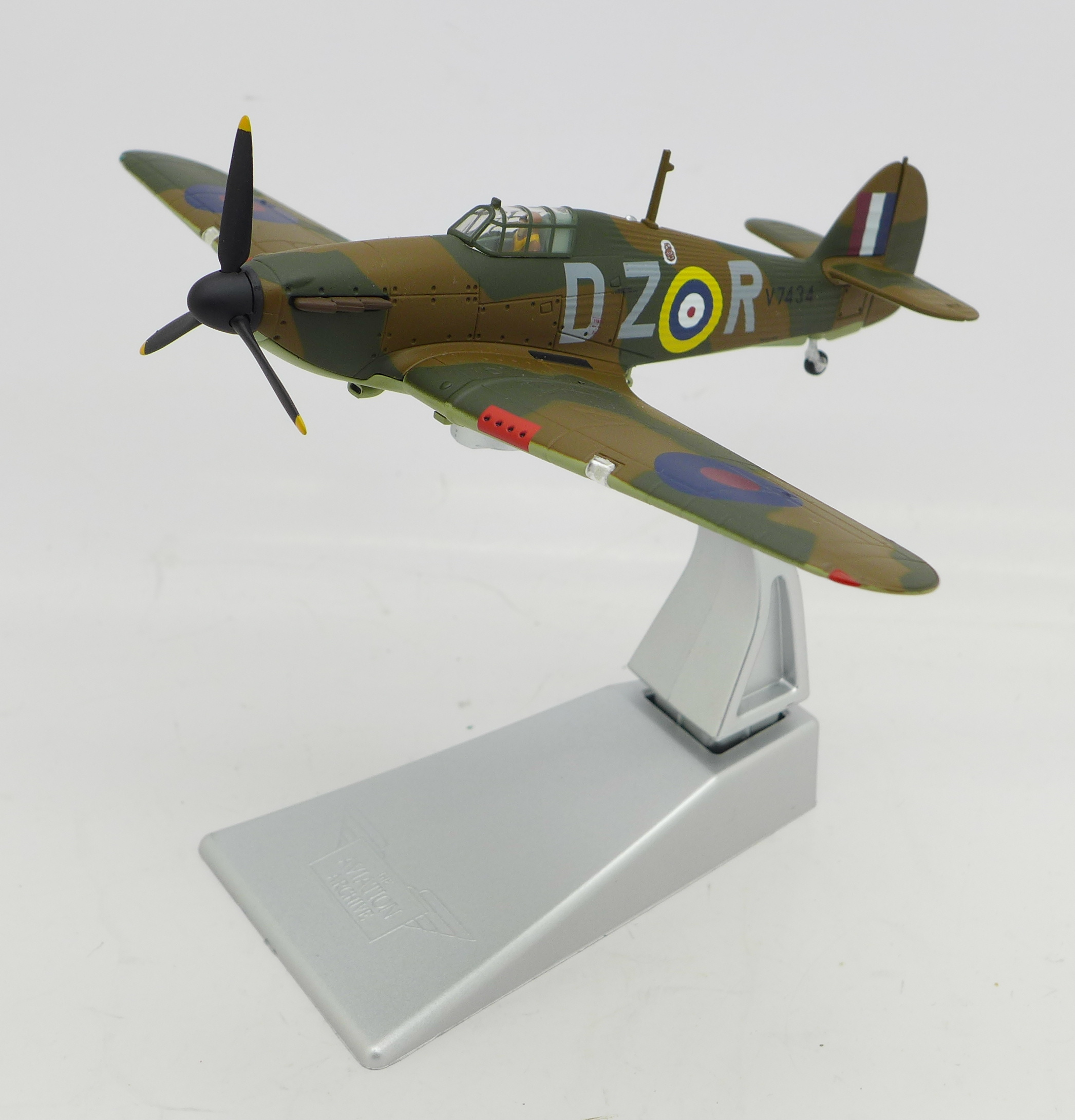 Lot 652 - Two Corgi limited edition The Aviation Archive aircraft, Spitfire Mk.