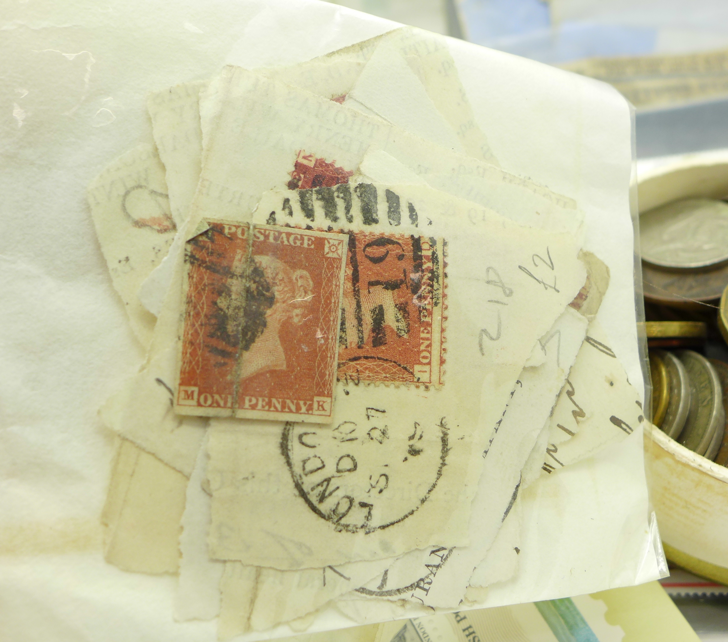 Lot 645 - An album of stamps, Royal Mail mint issue stamps,