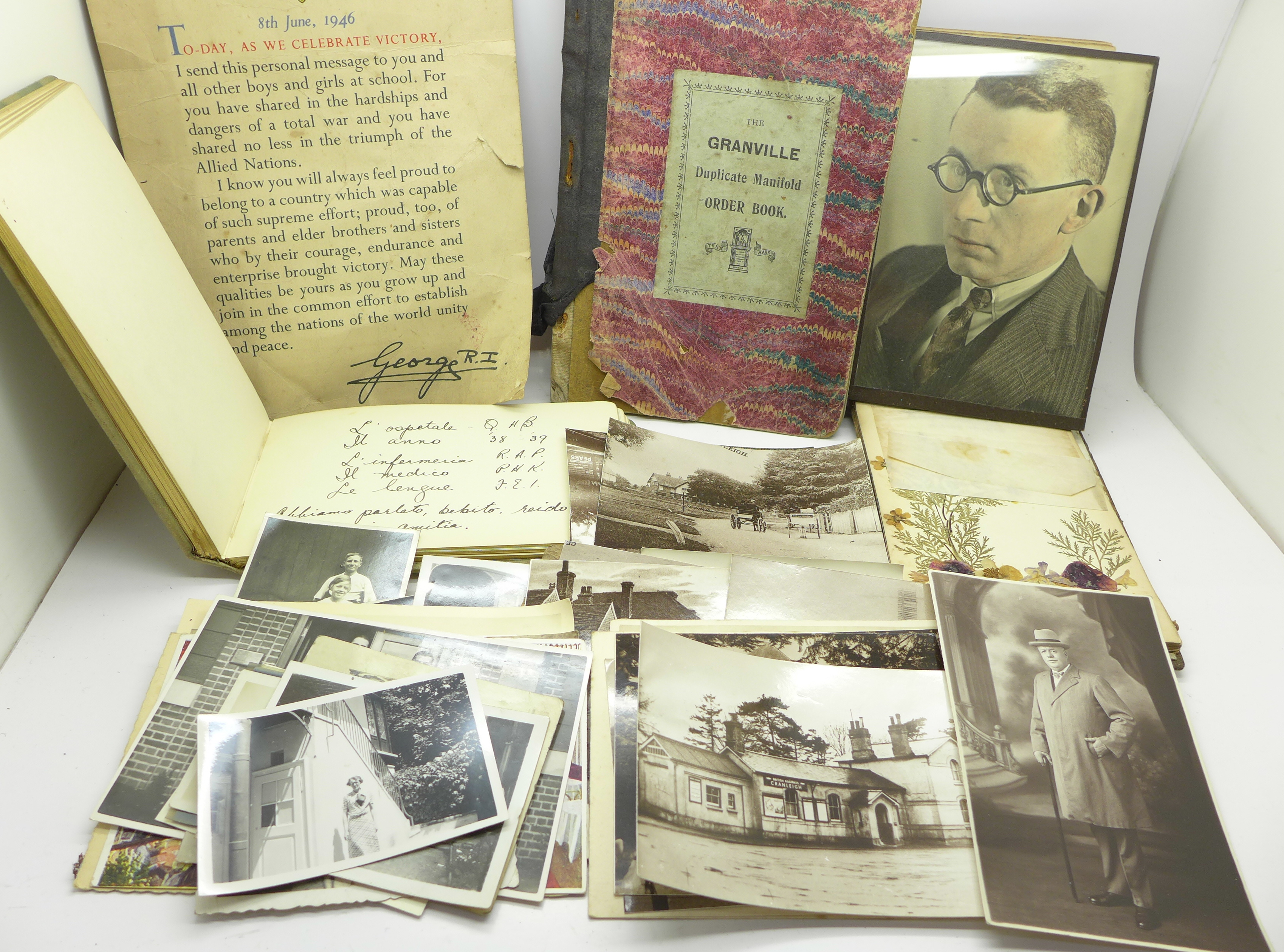 Lot 655 - A WWI Serviceman's War Diary, German East Africa, c.