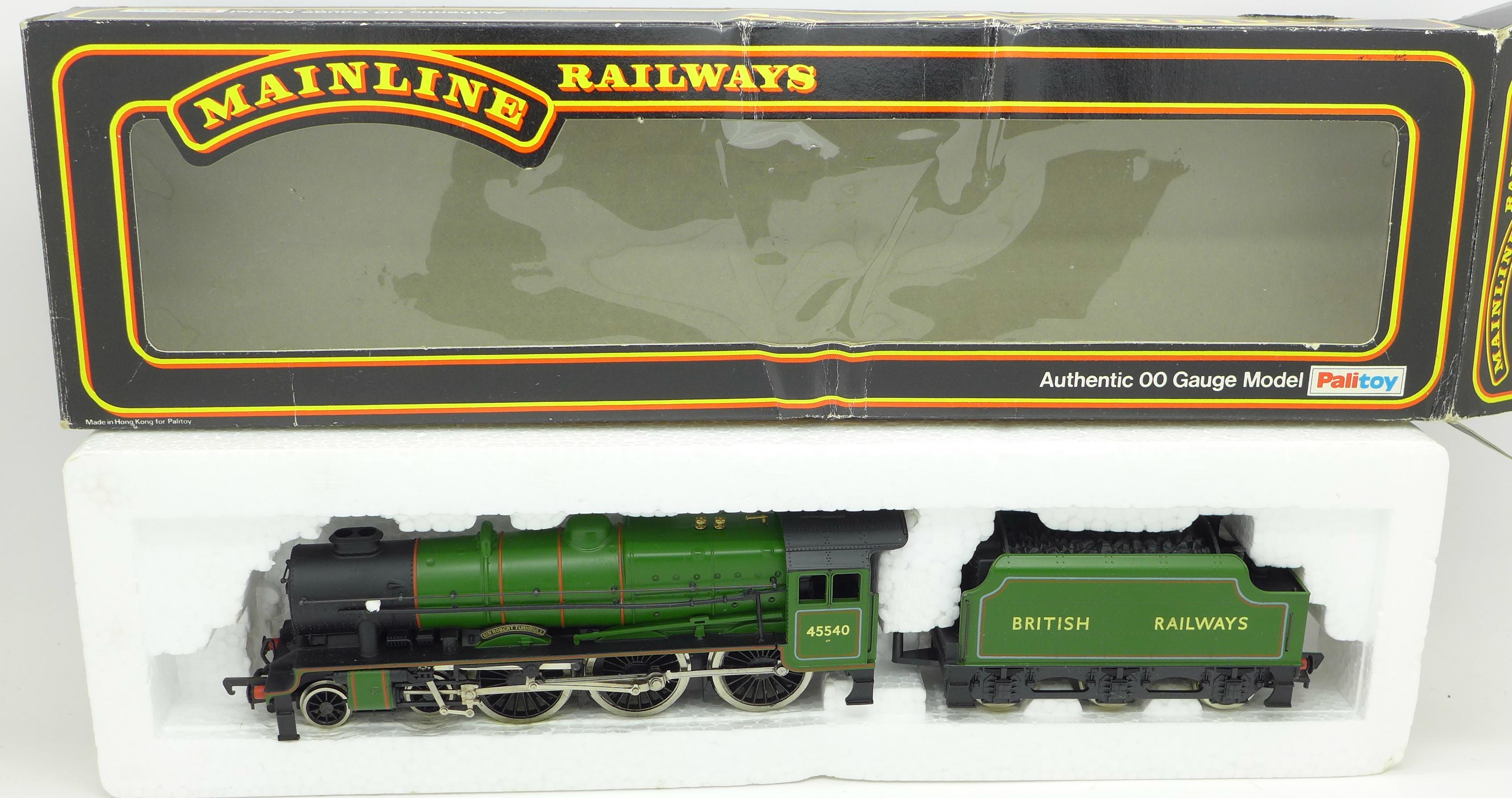 Lot 622 - A Mainline Railways 4-6-0 rebuilt Patriot Class 6P locomotive, Apple Green,
