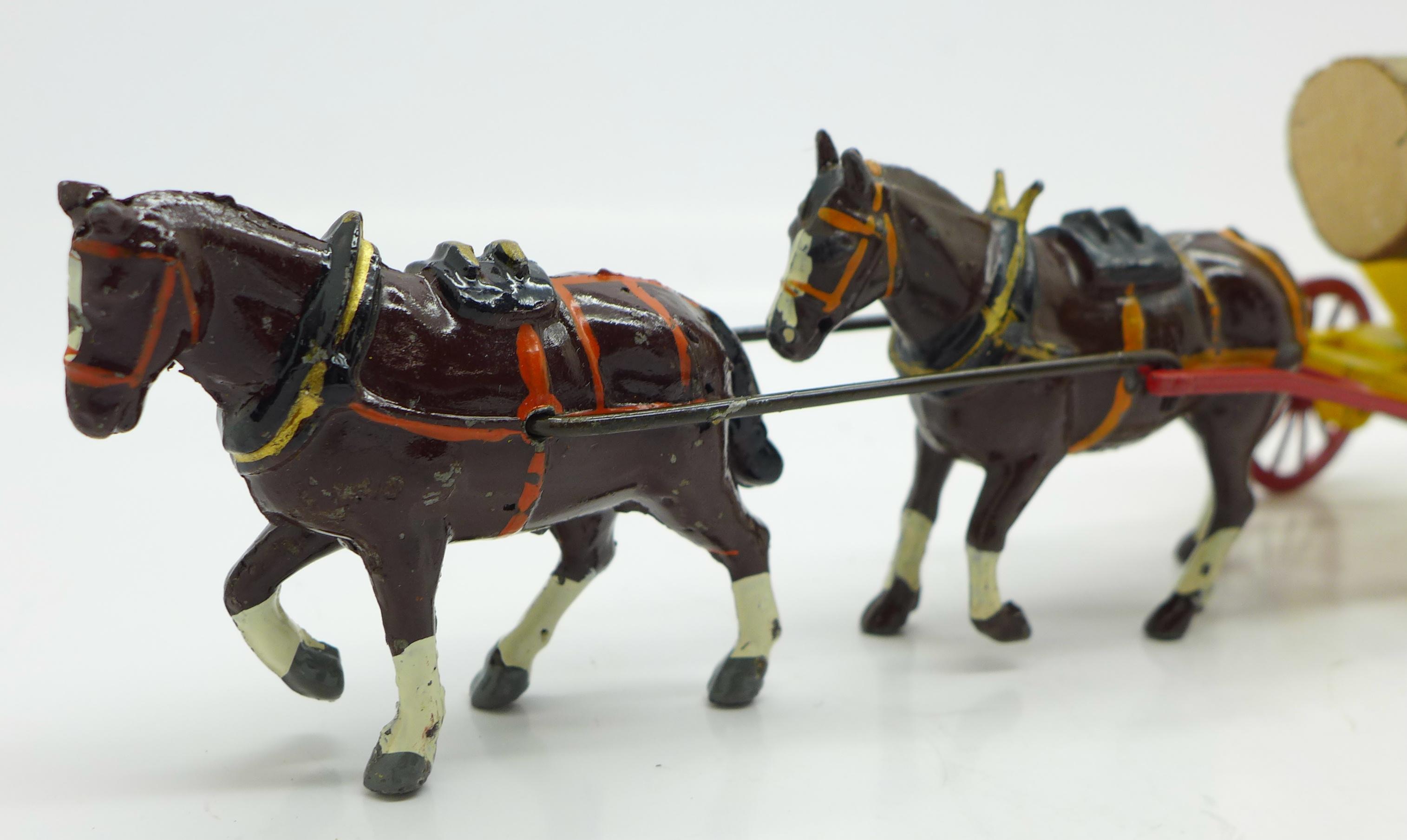 Lot 625 - A Charbens Series model log cart,