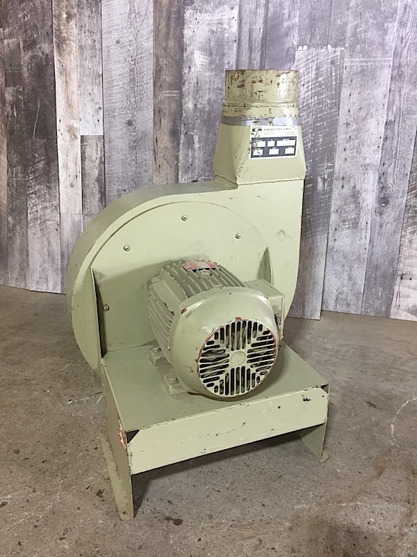 Lot 35 - KRAEMER DUST COLLECTION 5HP BLOWER