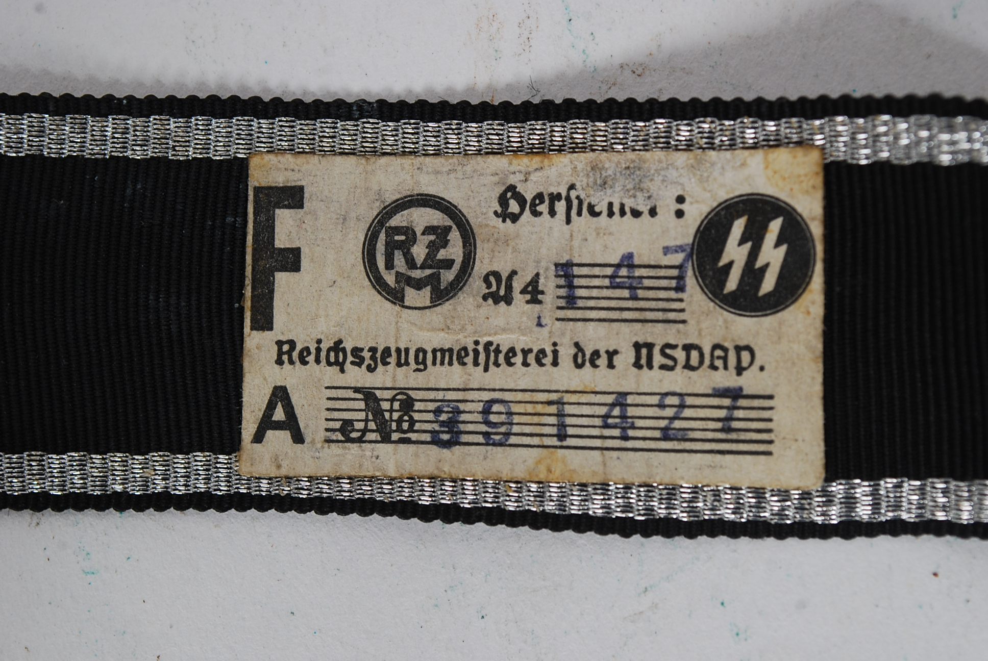 A Wwii Reproduction Waffen Ss Quotprinz Eugenquot Cuff Title