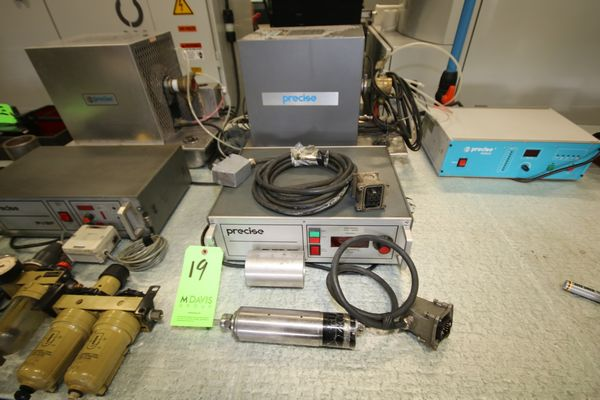 Lot 19 - Precise PVSF35 Spindle Drive with Control, Chiller, Lubrication System and Precise Spindle, Type