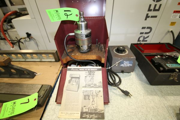 Lot 12 - Precise 1/2 hp Jig Grinder, Model J1L, S/N 007576 with Variable Speed Controller, 45000 RPM, 120