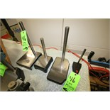 (4) Assorted Indicator Stands