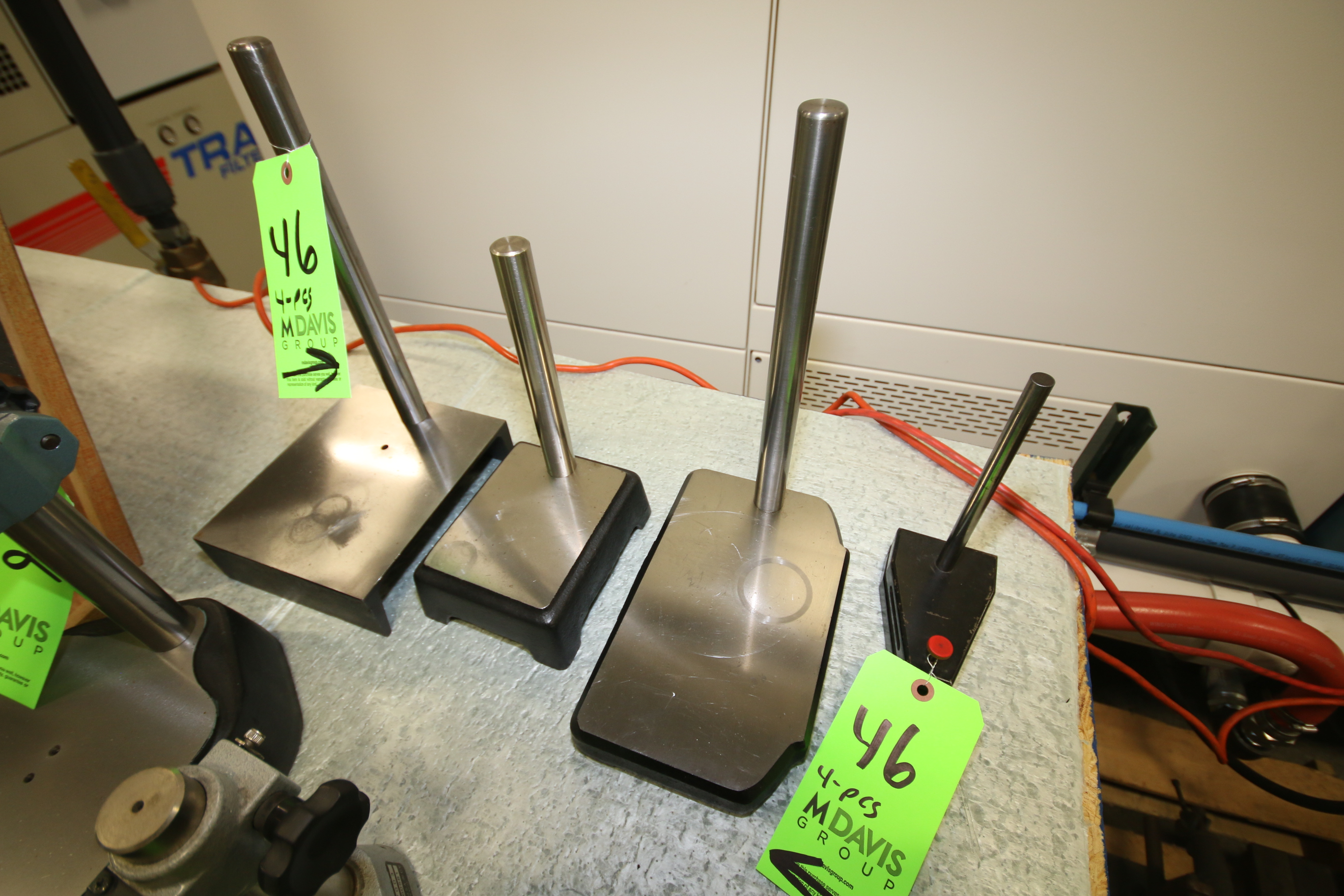 Lot 46 - (4) Assorted Indicator Stands