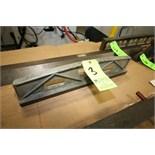 "Busch Precision Inc. 3"" W x 6"" H x 24"" L Camelback Dovetail Straight Edge, STK #6624S, S/N 29173/2"