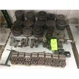 Cincinnati R Series Grinder Parts with Grinding Wheel Hubs (31); Straight, Angle & Radius Wheel