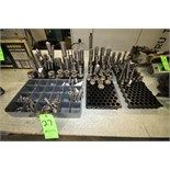 Assorted ID Quills for Okuma and Overbeck Grinders, Setco and GMN spindles thread diameter sizes
