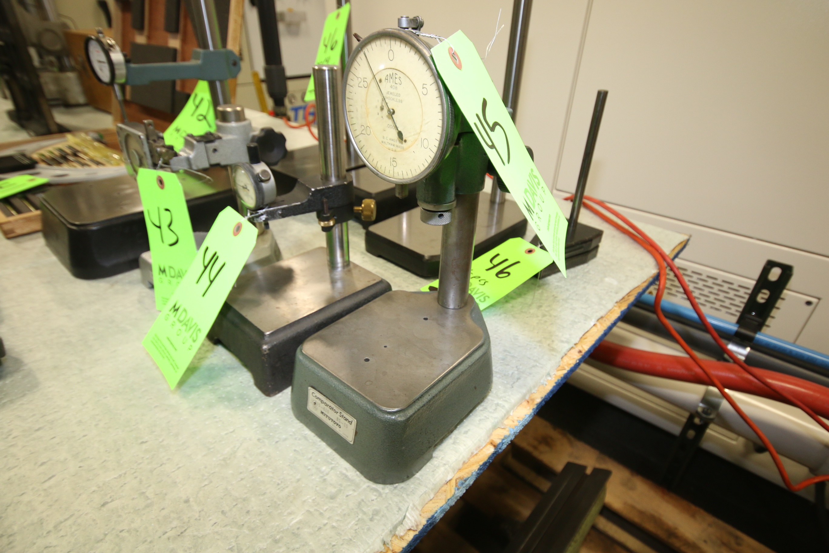 Lot 45 - Mitutoyo Indicator Stand, Model 15-610 BS-10