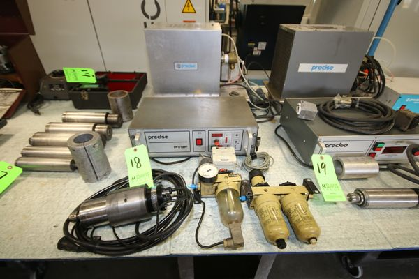 Lot 18 - Precise PVSF Spindle Drive with Control, Chiller, Lubrication System and Precise Spindle, Type