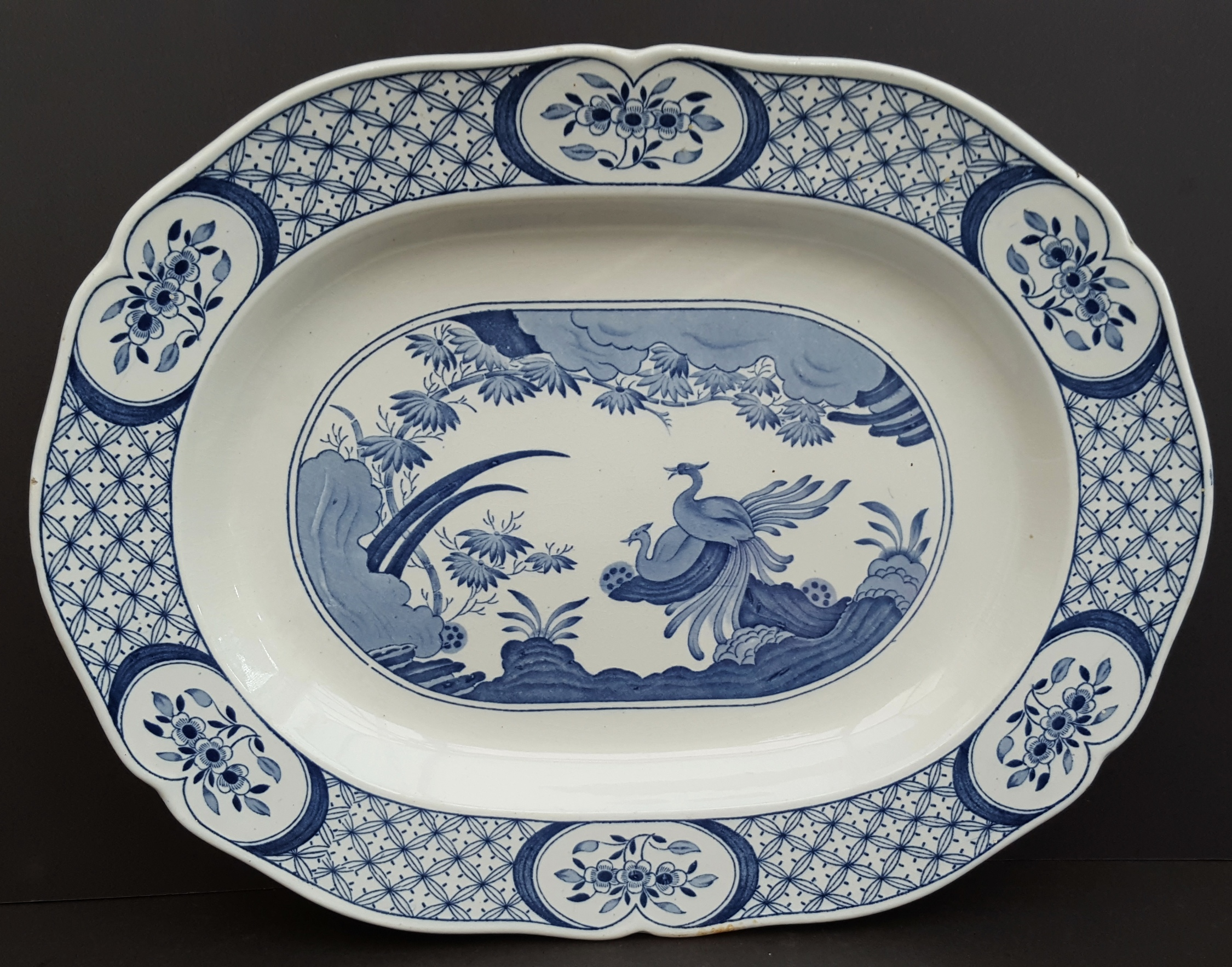 Lot 99 - Collection of Blue & White Furnivals Ltd Old Chelsea China Total Of 7 Pieces Reg No c1913