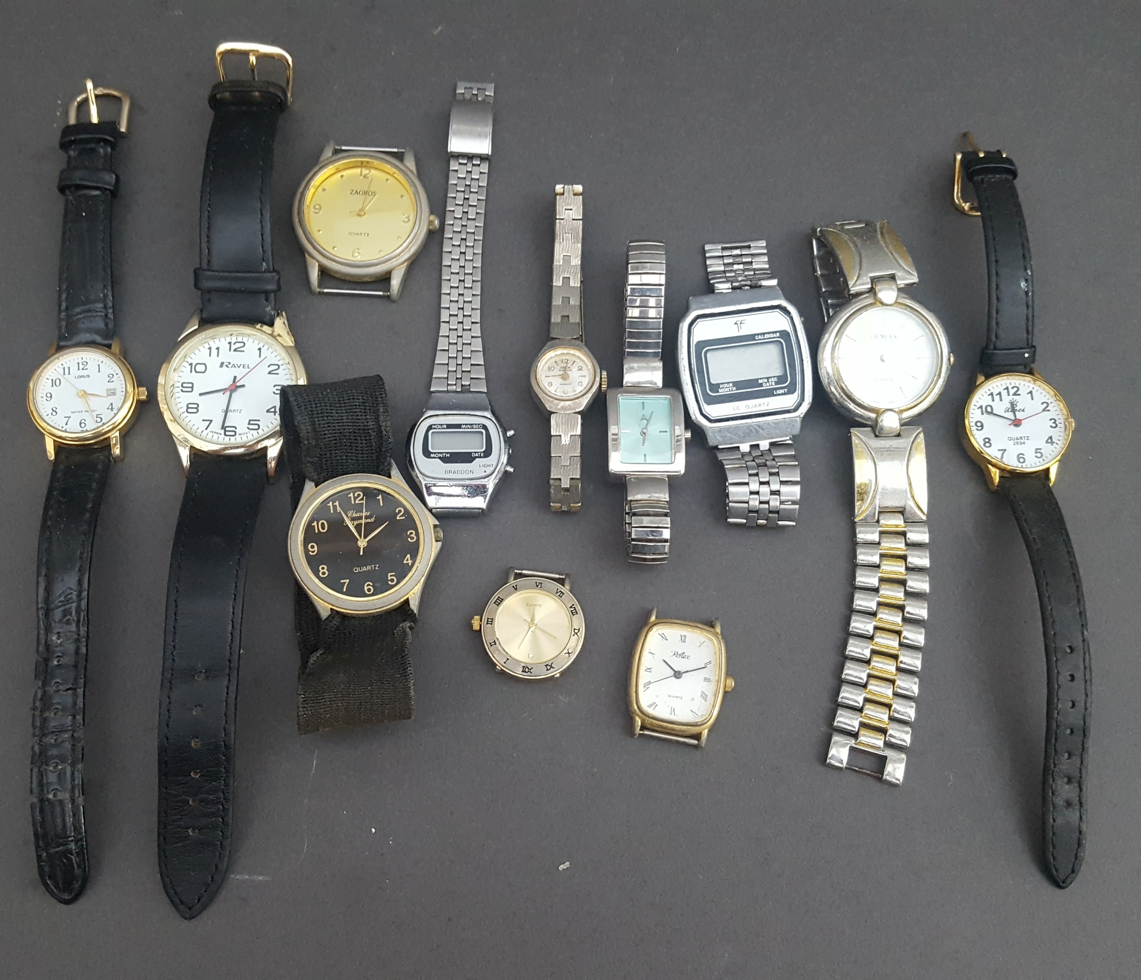 Lot 87 - Vintage Parcel of 12 Assorted Wrist Watches NO RESERVE