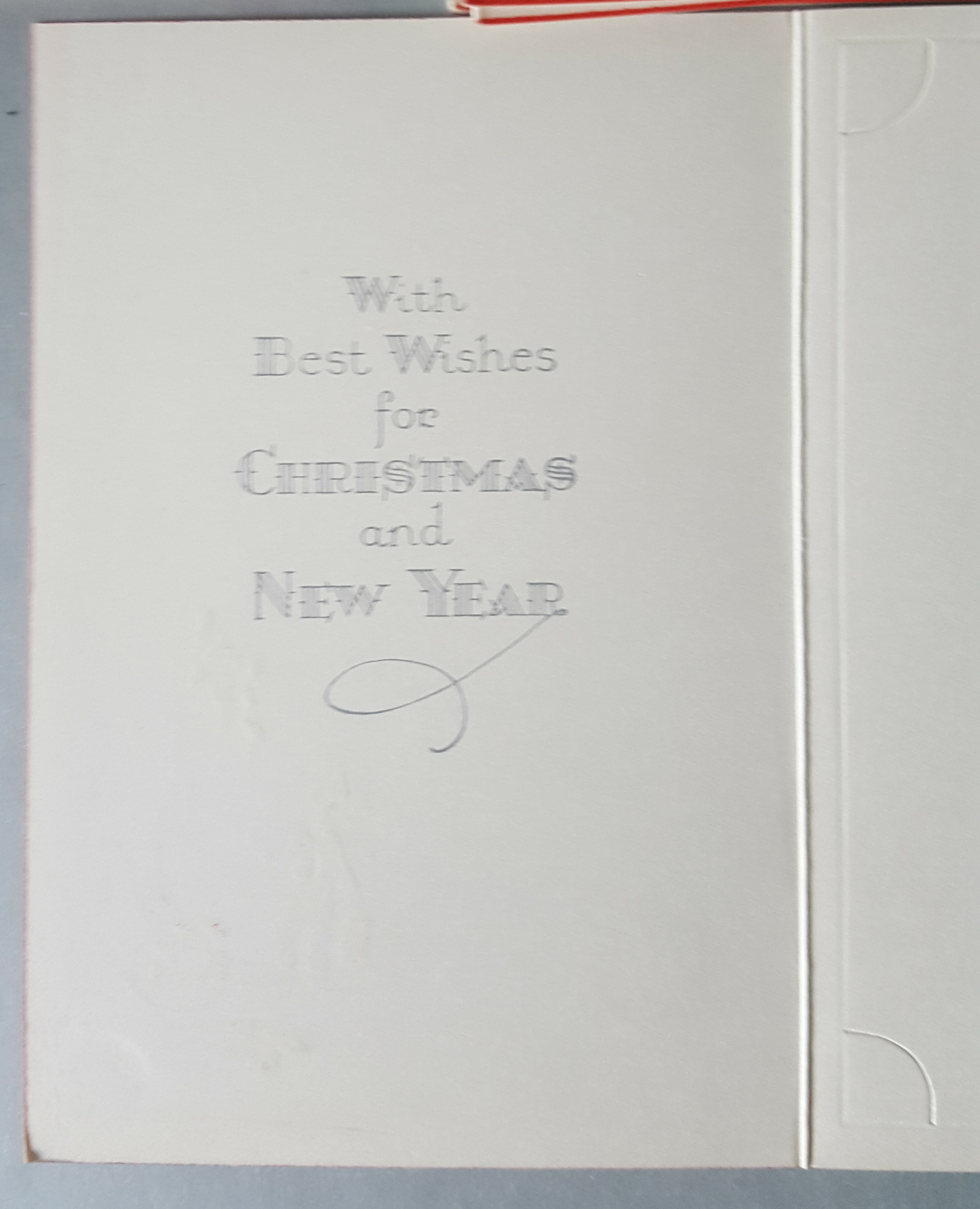Vintage Retro Kitsch 29 Unused Christmas Greeting Cards With Photo Holder c1950/60's - Image 3 of 4