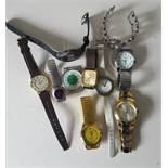 Vintage Retro Parcel of 10 Assorted Wrist Watches NO RESERVE