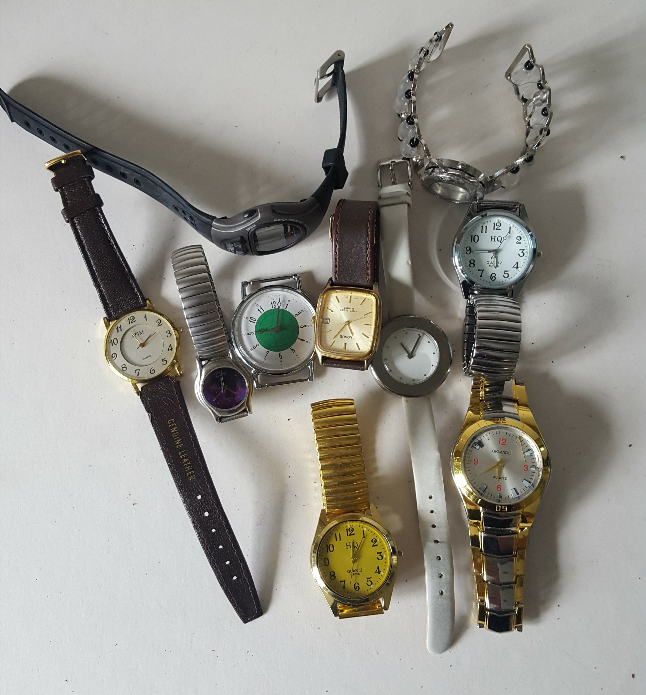 Lot 80 - Vintage Retro Parcel of 10 Assorted Wrist Watches NO RESERVE
