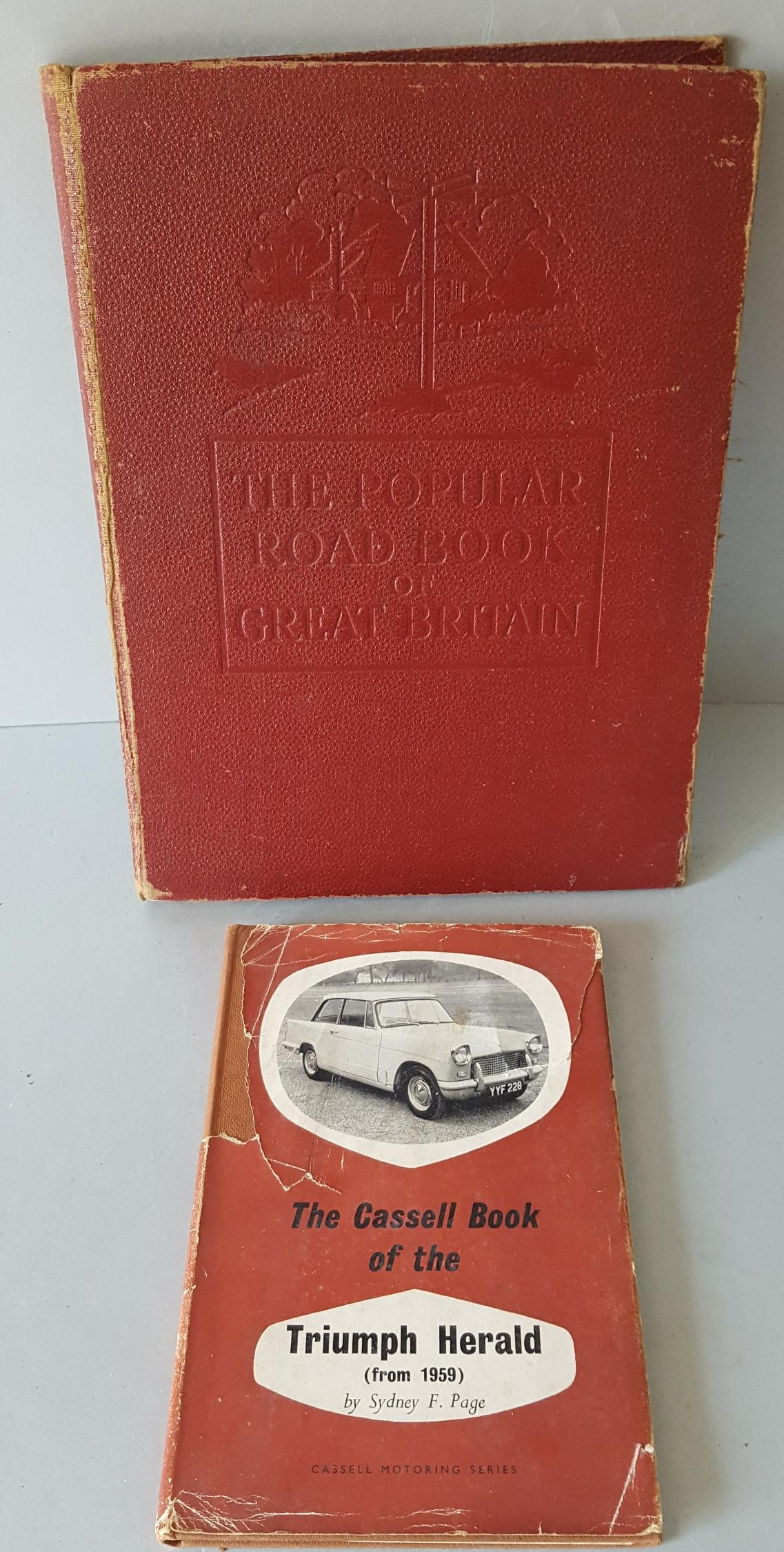 Lot 96 - Vintage Motoring Books Automobilia Includes Triumph Herald & Ford Cortina