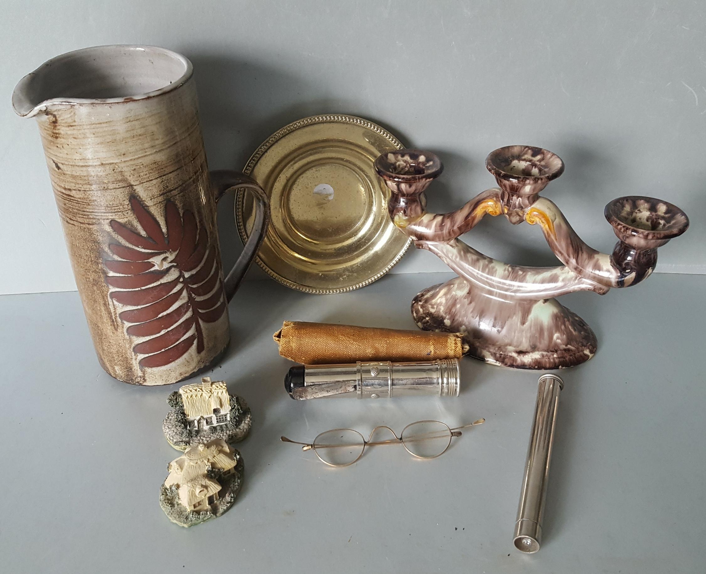 Lot 105 - Antique Vintage Retro Briglin Ware West German Pottery Leonardo Cottages Plus More NO RESERVE