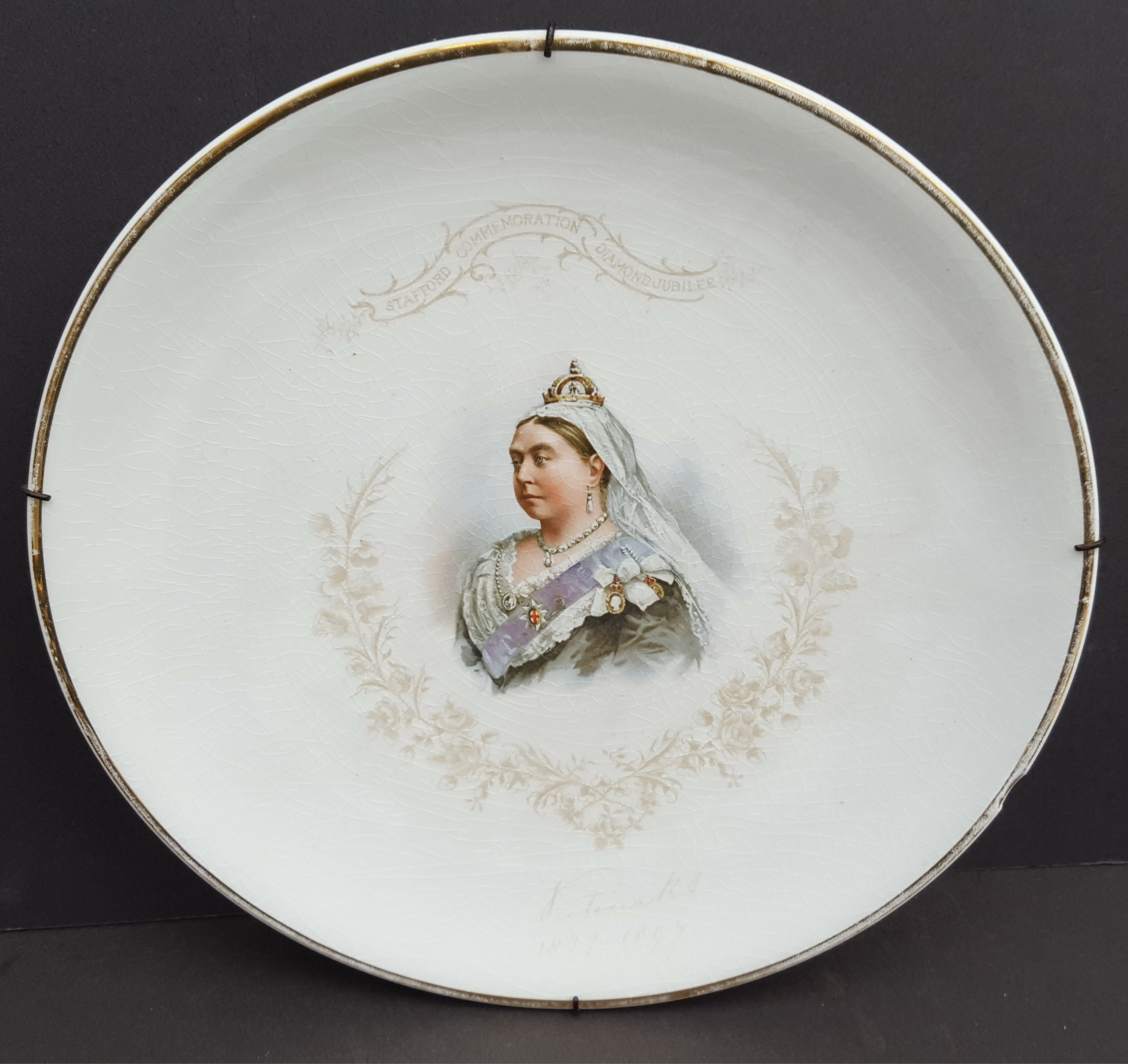Vintage Collection 14 Collectable Plates Includes Victorian Spode Blue & White Birds & Fish - Image 2 of 5