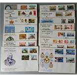 Vintage Parcel 14 Collectable First Day Cover Isle of Man 1973 to 1980