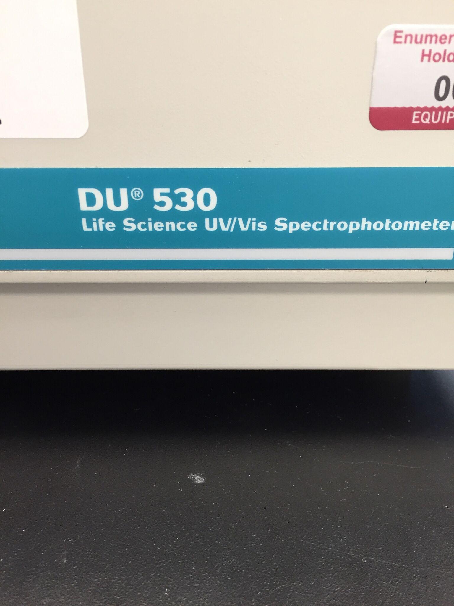 Lot 31 - Beckman Coulter DU 530 UV/Vis Spectrophotometer