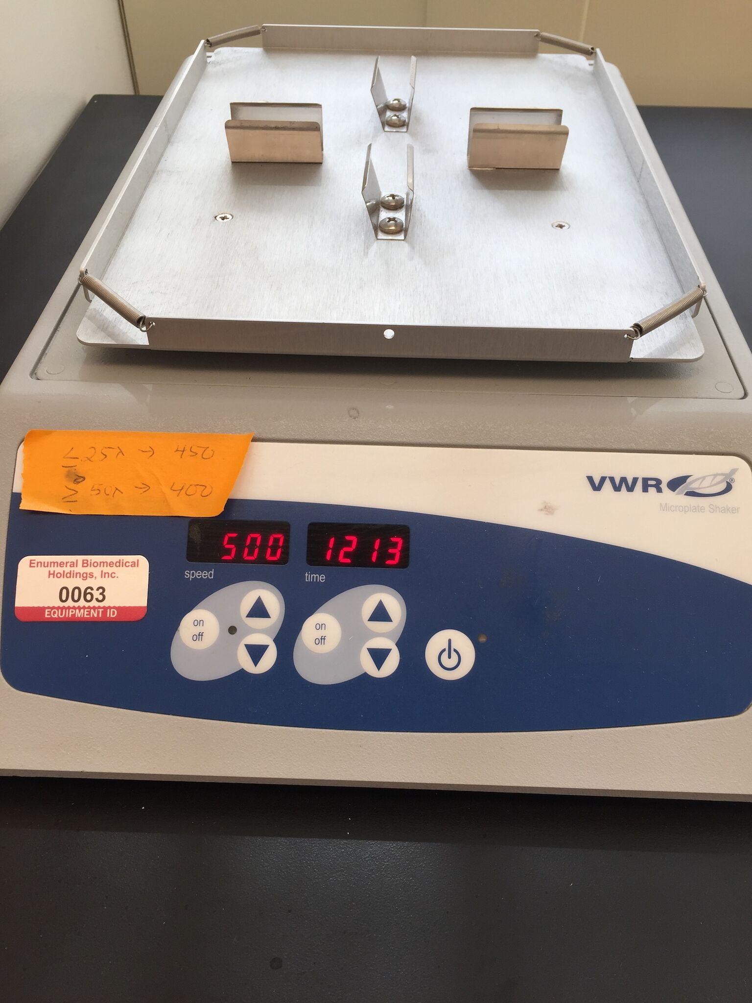 Lot 48 - VWR Micro Plate Shaker