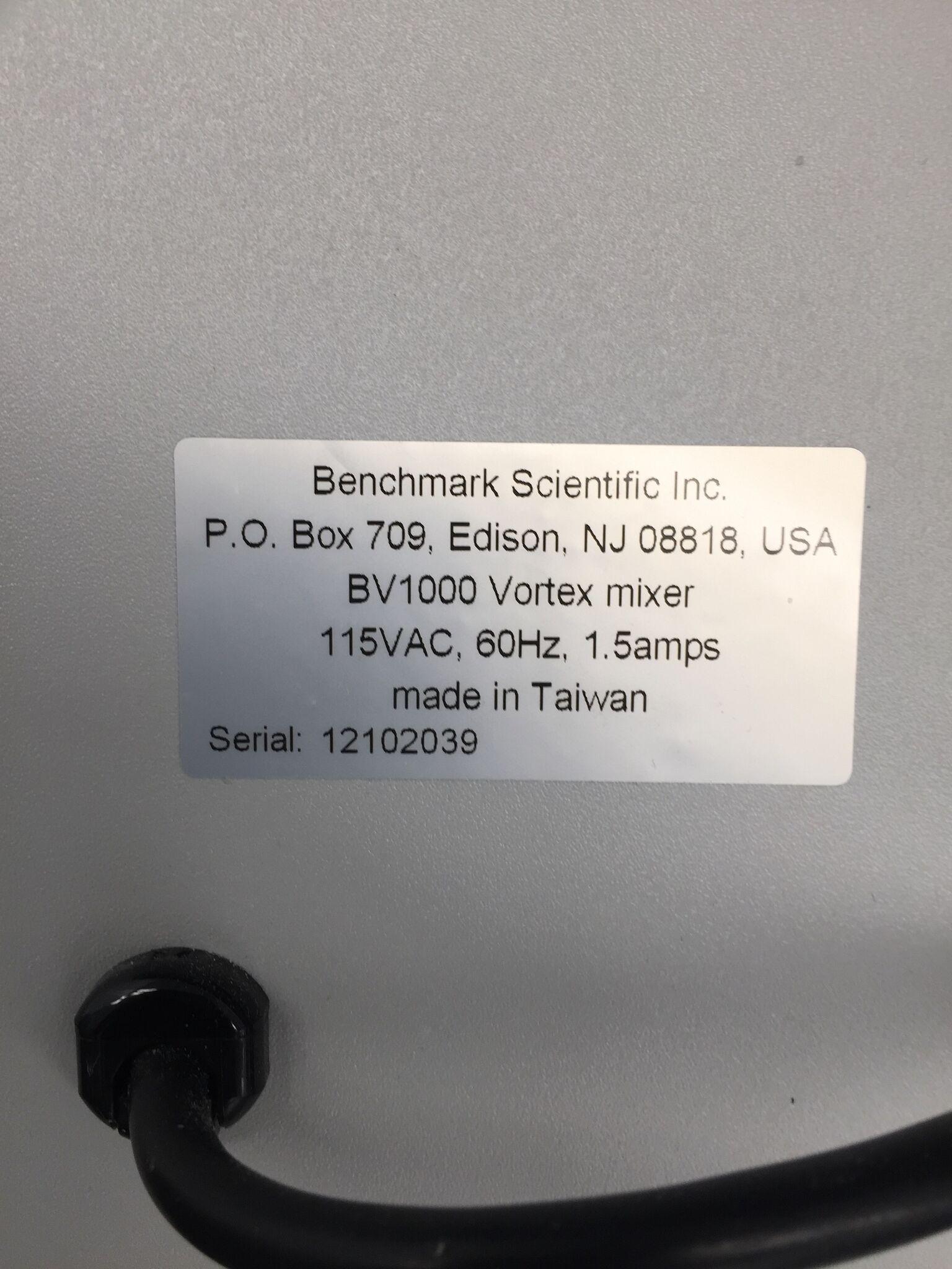 Lot 40 - Benchmark BV1000 Vortex Mixer
