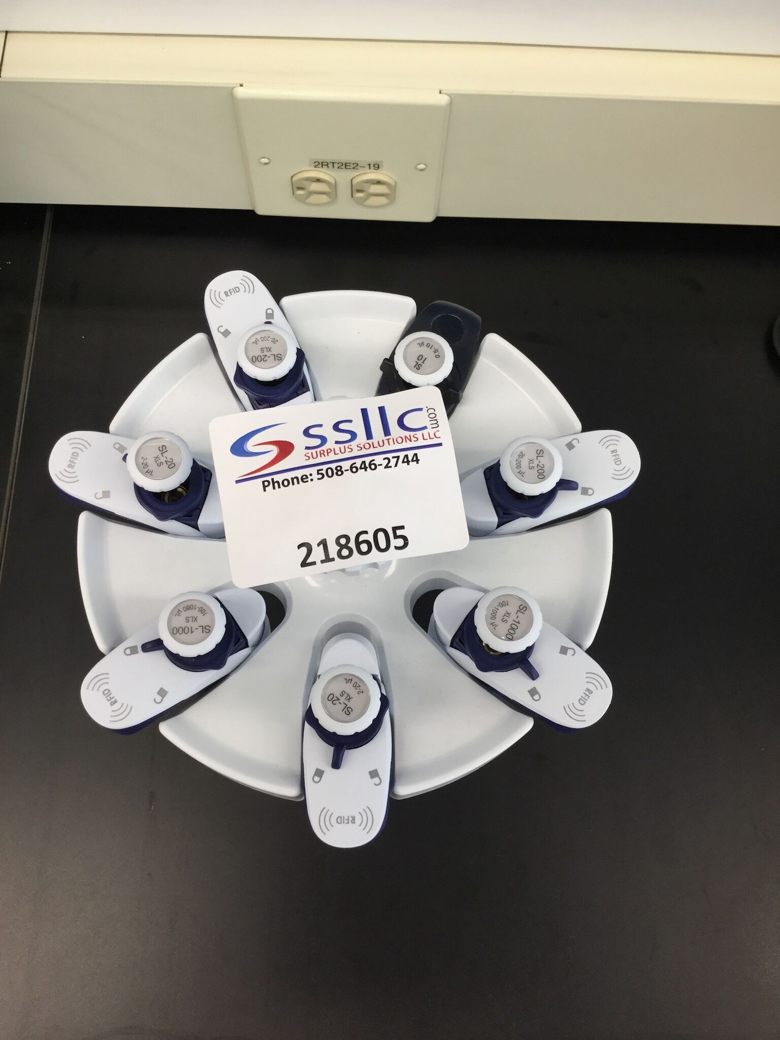 Lot 3 - Lot of (7) Single Channel Pipettes