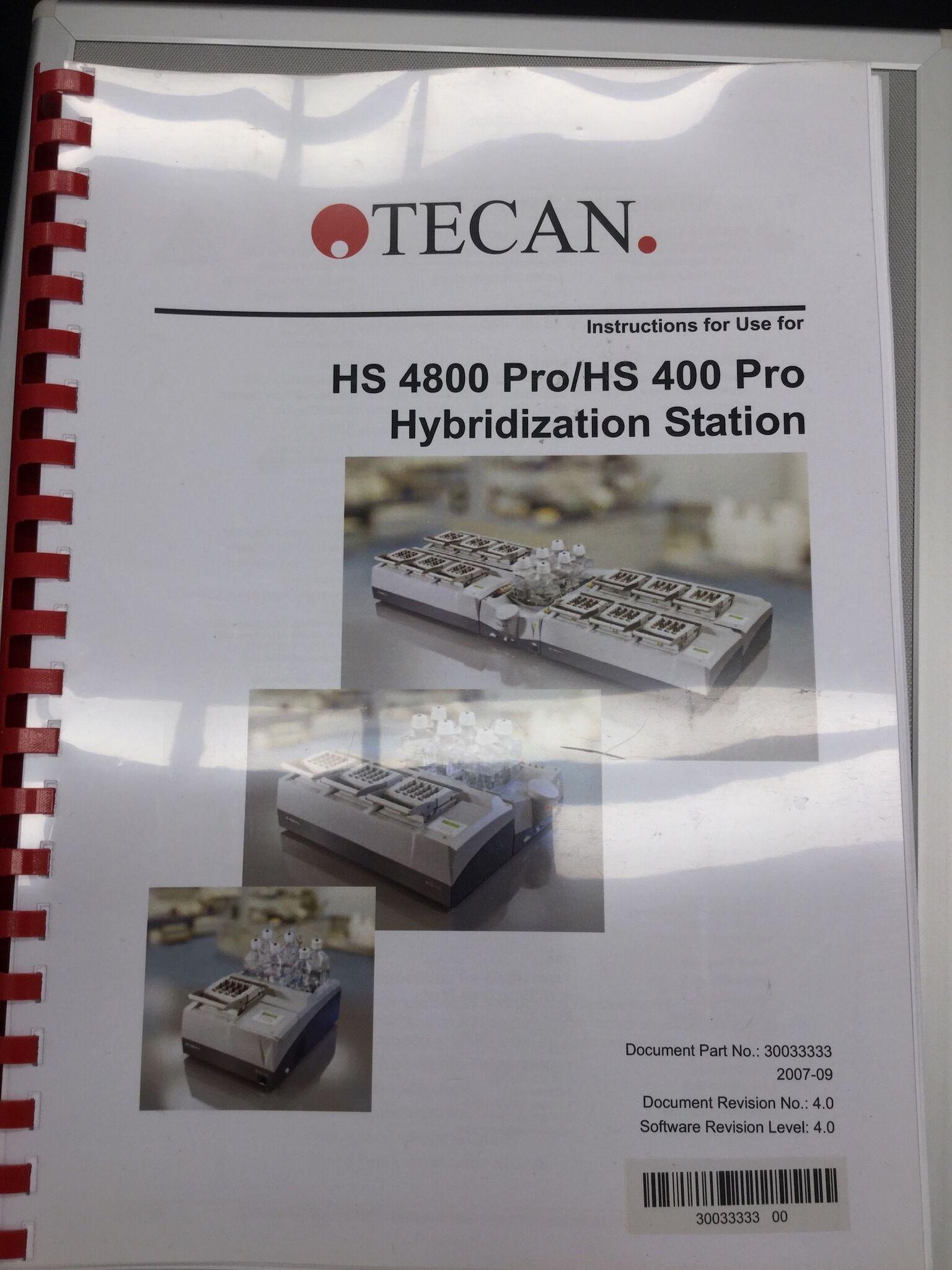 Lot 55 - Tecan HS 400 Pro Hybridization Station
