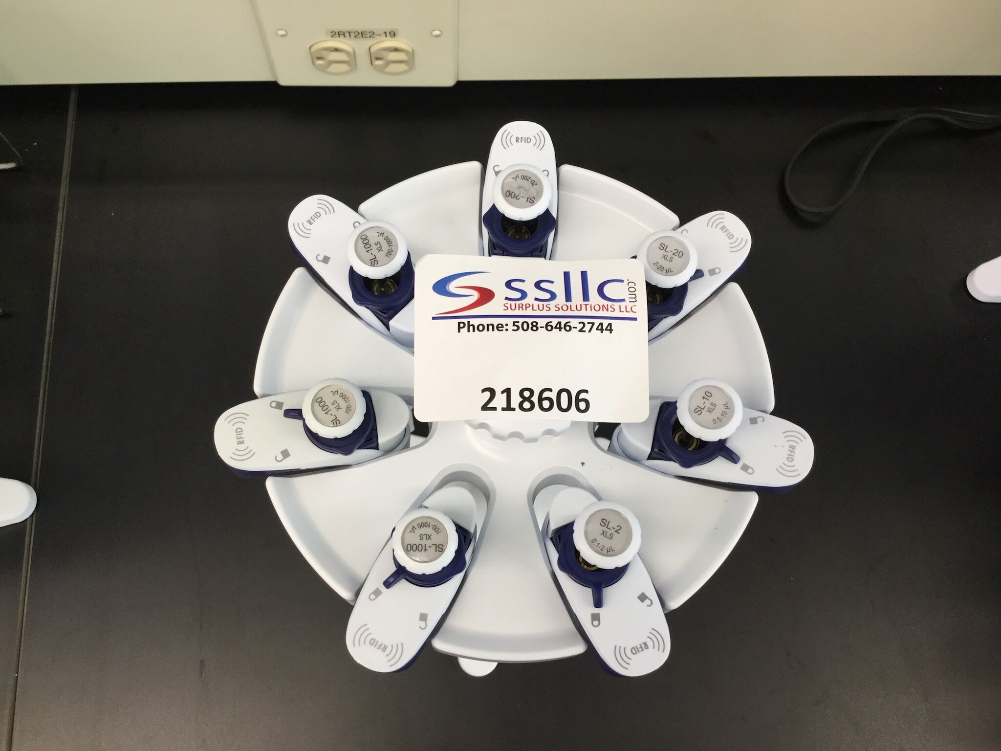 Lot 4 - Lot of (7) Single Channel Pipettes