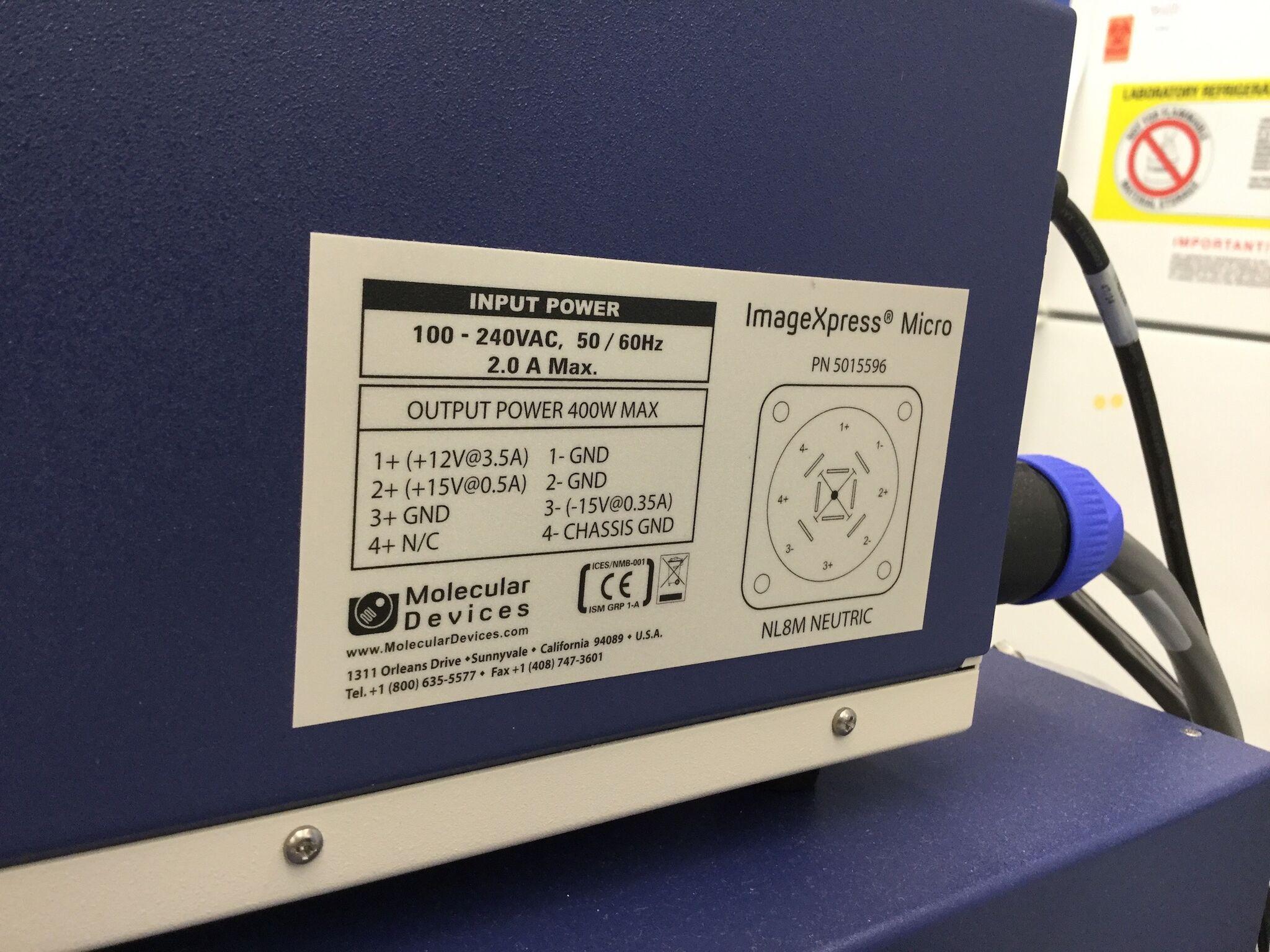 Lot 26 - Molecular Devices ImageXpress Micro XLS