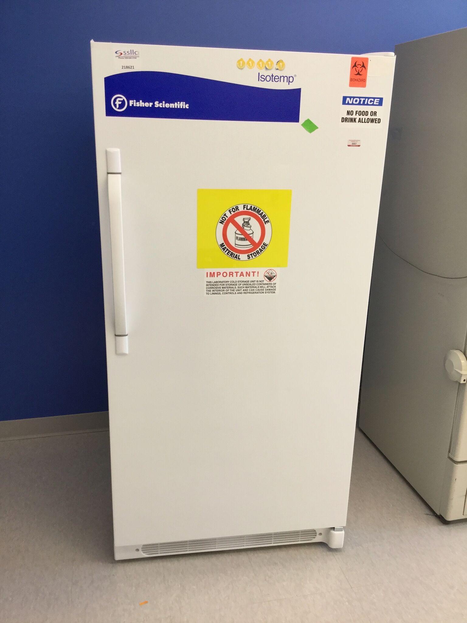 Lot 19 - Fisher Scientific Model 13-986-151B Laboratory Refrigerator