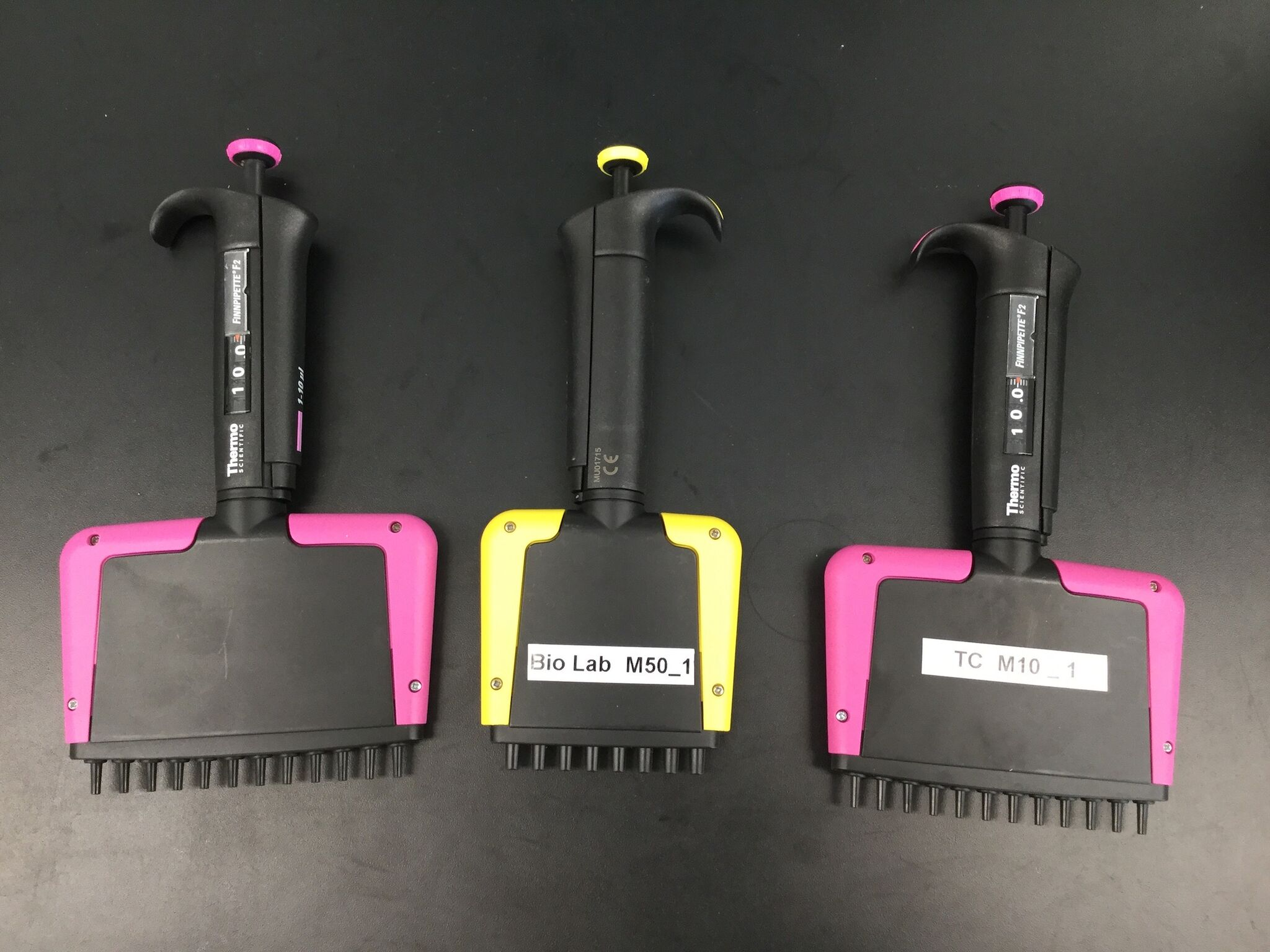 Lot 15 - Lot of (3) Multi-Channel Pipettes