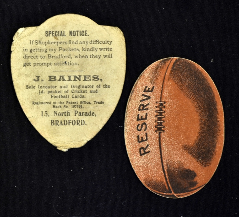 """Scarce Baines Rugby Trade card for """"Somerville"""" with ..."""