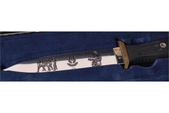 SAS Operation Nimrod (Iranian Embassy Siege) Commemorative Knife by