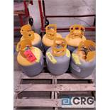 Lot consists of (6) refrigerant recovery tanks including recovered R-134A